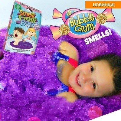 Впервые на Preta детские гель-слизи для ванной Gelli Baff