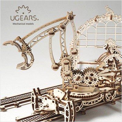 Крутые 3D конструкторы из дерева UGEARS