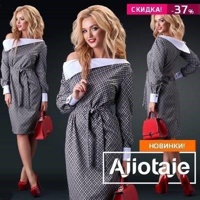 Огромная подборка платьев Ajiotaje.Есть большие размеры
