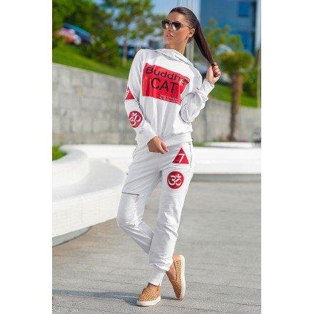 Спортивный костюм Косетт белый Lady Сharm