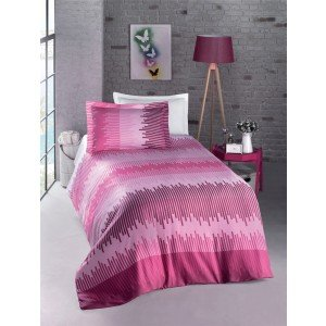 Полуторный КПБ Ranforce Energy Fuchsia от Luoca Patisca, 160х220 см
