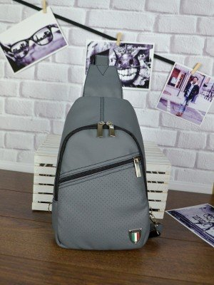 Мужской рюкзак Slivki Max 22 Gray Italia Perforation