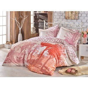 Евро КПБ HOBBY Alandra Exclusive Sateen Pink, 200х220 см
